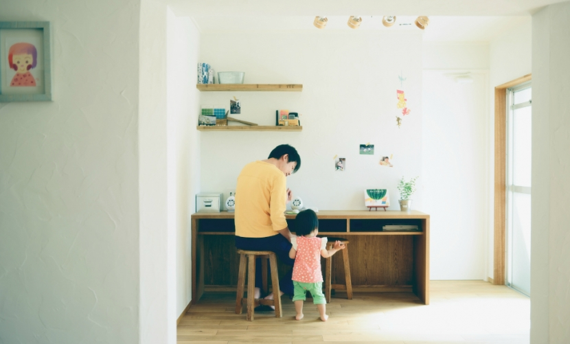リノベーション / Leafの部屋 書斎