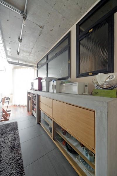 キッチン (間取りアイデンティティを感じる家)