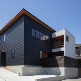 若久の家 (南側外観)