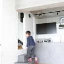 モールテックスキッチンのシンプルリノベーションの写真 小上がり寝室