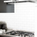 モールテックスキッチンのシンプルリノベーションの写真 キッチン
