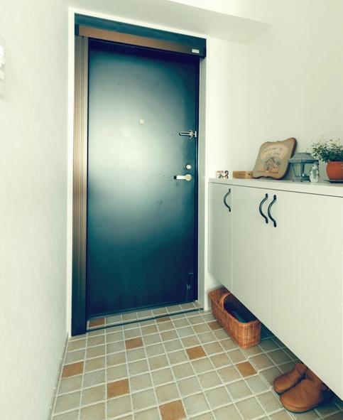 リノベーション / cozy (玄関)