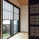 アレルギー反応を持つ子供が住むための和モダン住宅/美しい空気の家の写真 個室