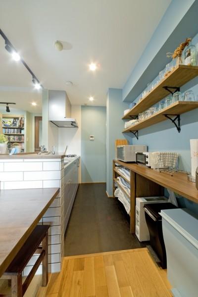 キッチン (アオイロに囲まれた暮らし)
