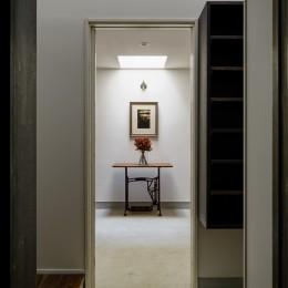 ギャラリーの家 (玄関2)