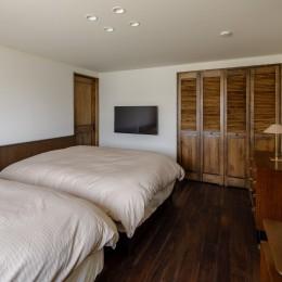 ギャラリーの家 (寝室)