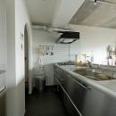 憧れのガレージハウスをリノベーションで叶えるの写真 キッチン