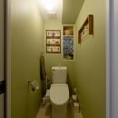 自然体に暮らすリノベーションの写真 トイレ