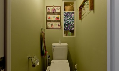 自然体に暮らすリノベーション (トイレ)