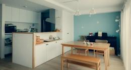 リノベーション / cozy (ダイニングとキッチン)