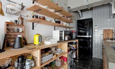 見上げたくなる空間 (キッチン)