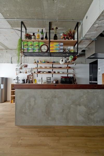 キッチン (見上げたくなる空間)