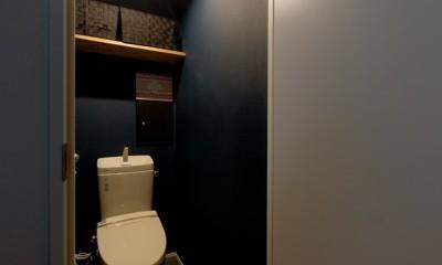 見上げたくなる空間 (トイレ)