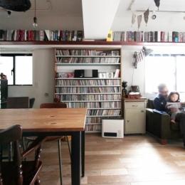 VINSTA - 小窓 × 白ブリック --LIVING DINING KITCHEN3