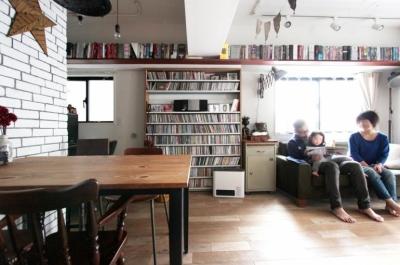 VINSTA - 小窓 × 白ブリック - (LIVING DINING KITCHEN3)