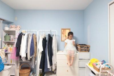 完成が楽しみで仕方なかったブルーの子供部屋 (森のようなグリーンのタイルがアクセント!奥様の想いがつまった、自然の中にいるような居心地の良い家)