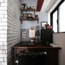 VINSTA - 小窓 × 白ブリック -