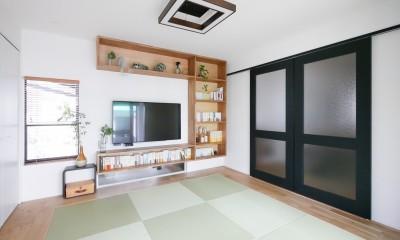 全長5mの造作ソファでのんびりダイニングのお家 (和室)