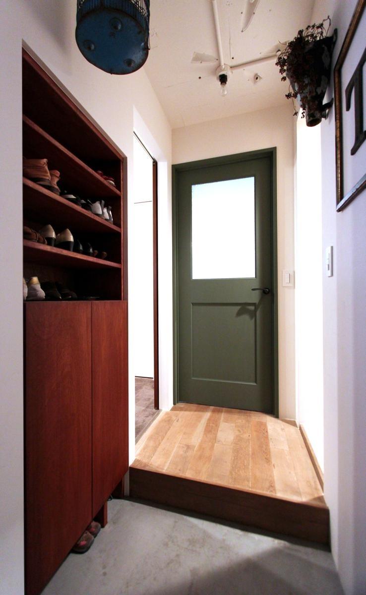 VINSTA - 小窓 × 白ブリック -の部屋 ENTRANCE1