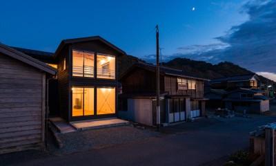海の家 〜笹川流れ・海を望むリノベーション〜 (外観(夕景))