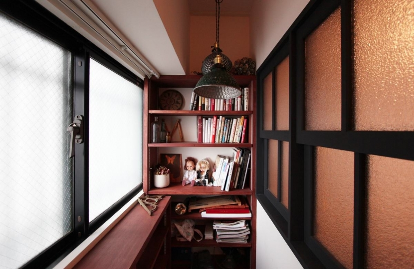 VINSTA - 小窓 × 白ブリック -の部屋 ENTRANCE2