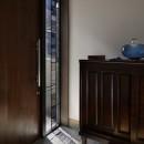 大きな天窓の家の写真 玄関