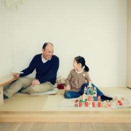 リノベーション / cozy (家族の集る和室)