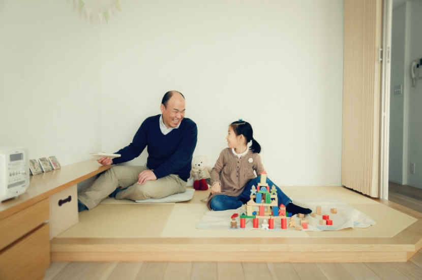 リノベーション / cozyの部屋 家族の集る和室