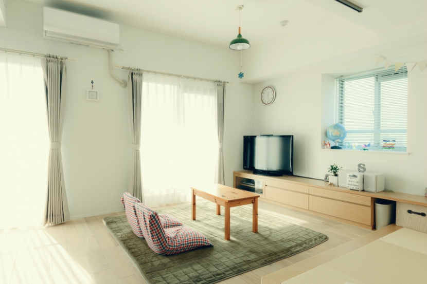 リノベーション / cozyの部屋 和室のあるリビング