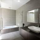 060軽井沢Kさんの家の写真 浴室+洗面脱衣室
