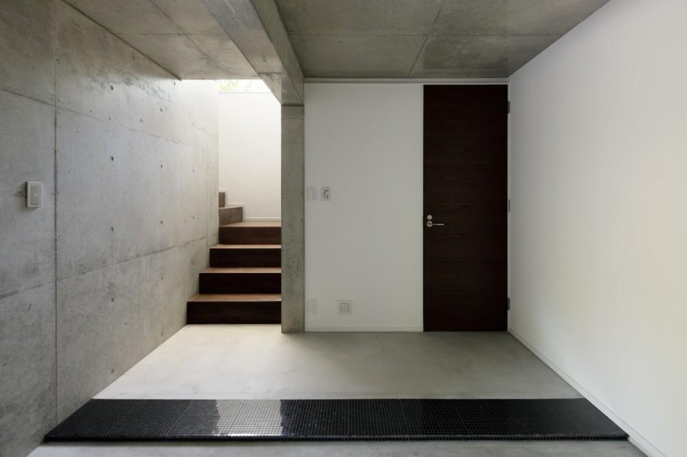 060軽井沢Kさんの家 (玄関)