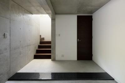 玄関 (060軽井沢Kさんの家)