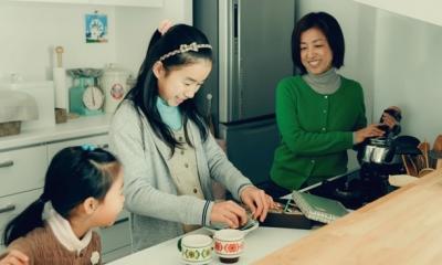 リノベーション / cozy (会話の弾むキッチン)