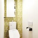 緑と木に囲まれて一息の写真 トイレ
