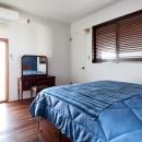 海とつながる圧巻オーシャンビューの写真 ベッドルーム