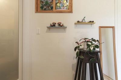 調湿効果のある漆喰塗り壁 (自然と優しい素材に囲まれたニュートラルな暮らし)
