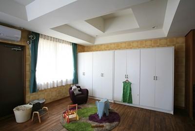 壁紙で楽しむ子供部屋 (O邸)