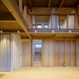 『東口の家』新たなコンセプトを持った住まい (階段)