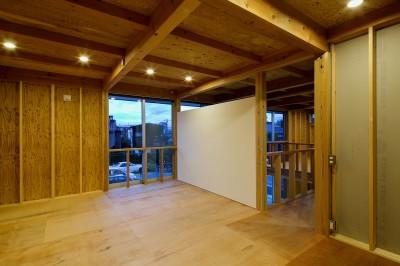 部屋 (『東口の家』新たなコンセプトを持った住まい)