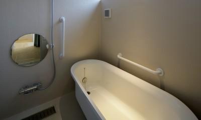 『東口の家』新たなコンセプトを持った住まい (浴室)