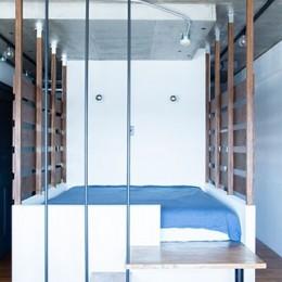 小上がりのベッドルームで光を取り入れるユニークなお部屋 (小上がりのベッドルームで光を取り入れる)