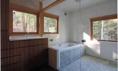 伊豆天城高原の別荘 -DOVE VAI- (浴室)