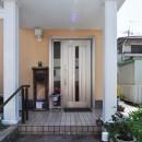 住まいる工務店の住宅事例「明るい玄関に1dayリフォーム」