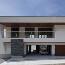 N12-house「回遊テラスのあるガレージハウス」の写真 建物北面