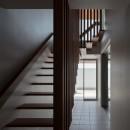 N12-house「回遊テラスのあるガレージハウス」の写真 階段