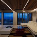 N12-house「回遊テラスのあるガレージハウス」の写真 LDK