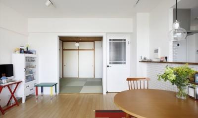 T邸_お気に入りが彩る白いキャンバス (和室)