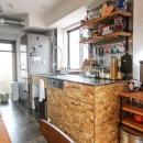 ざっくり、荒々しくの写真 キッチン