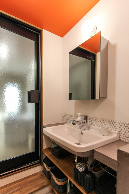 ふたりだけの特別なスペース (洗面室)