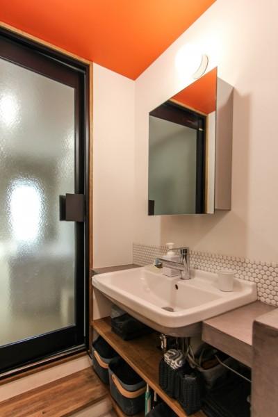 洗面室 (ふたりだけの特別なスペース)